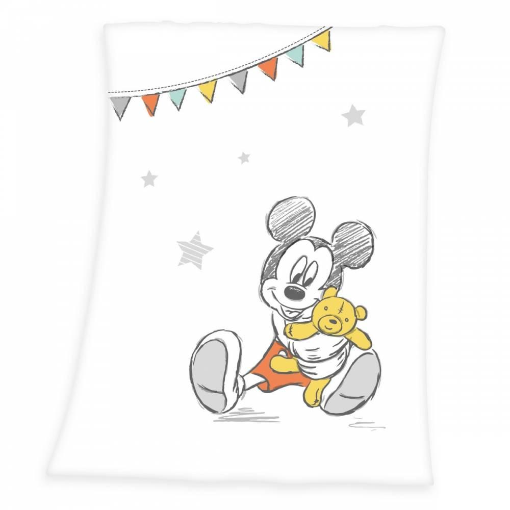 Herding Detská deka Mickey Mouse, 75 x 100 cm