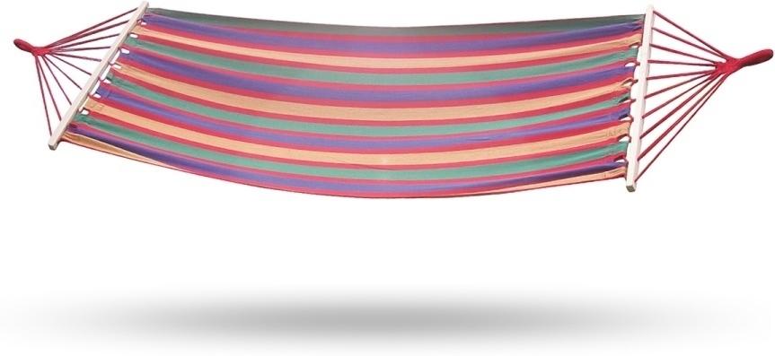 GARDEN FURNITURE XHMK 200x80 cm hojdacia sieť - farebné pásy
