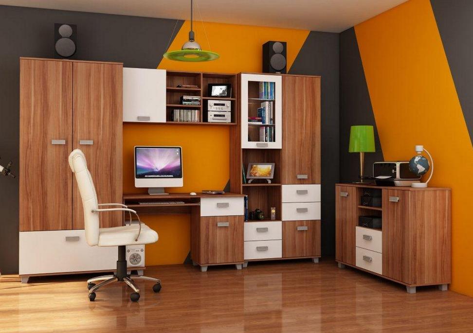 Študentská izba SOLO II   Farba: Slivka / biela
