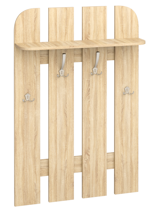 Vešiakový panel w 80-01   Farba: dub sonoma