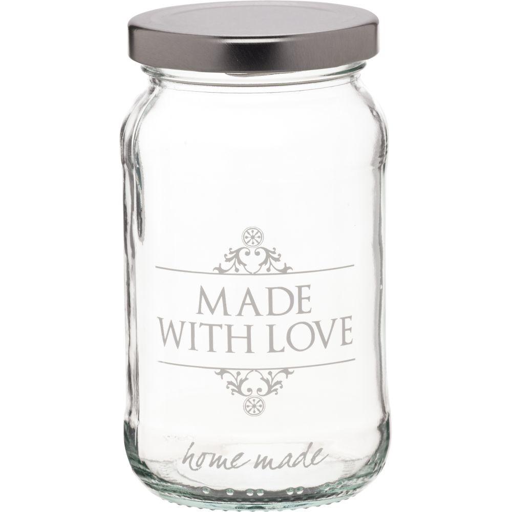 Nádoba na zaváranie Made with Love, 454 ml