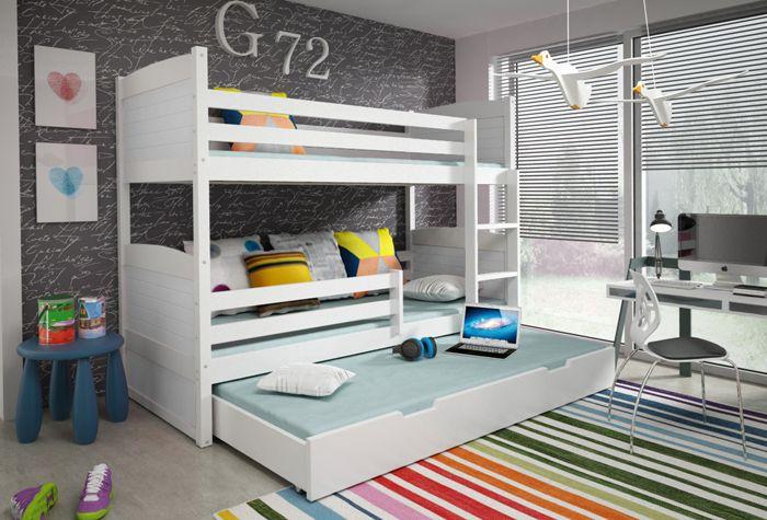 Poschodová posteľ Rico 3