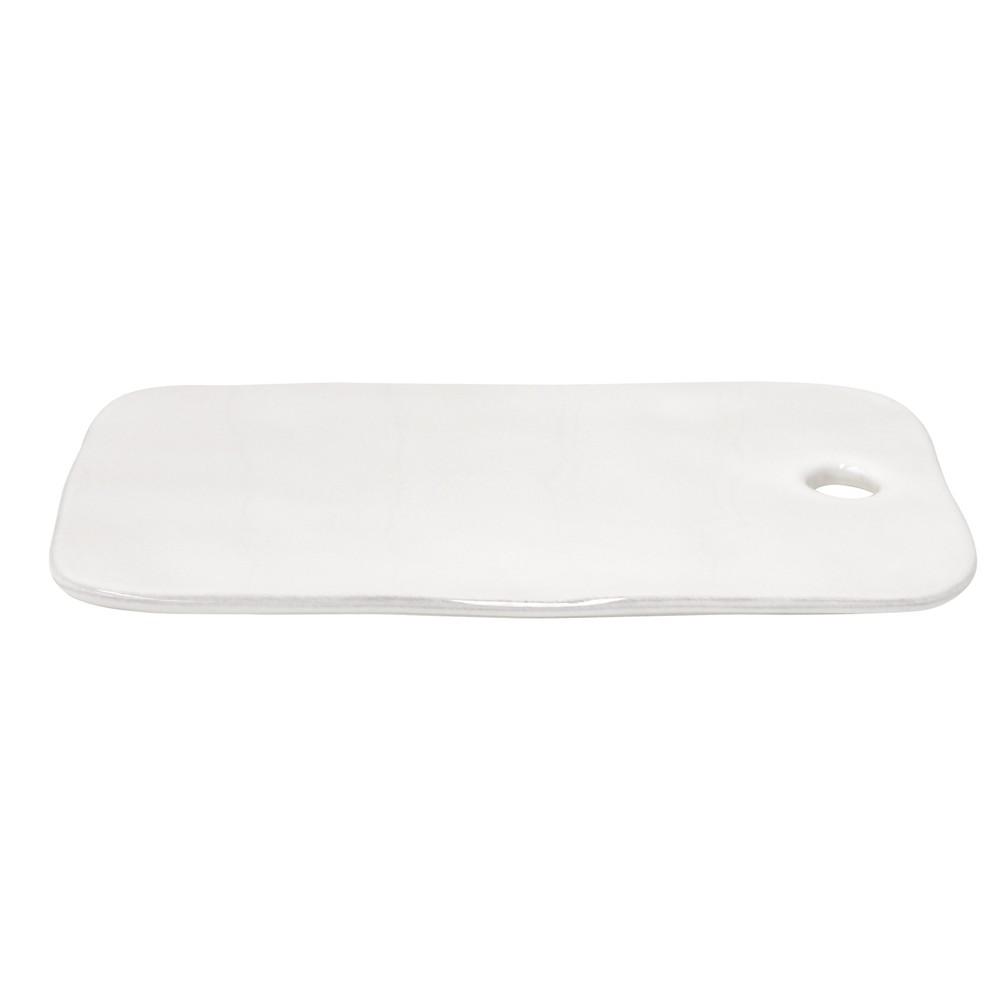 Biela kameninová zapekacia podložka Costa Nova Lisa, šírka 32cm
