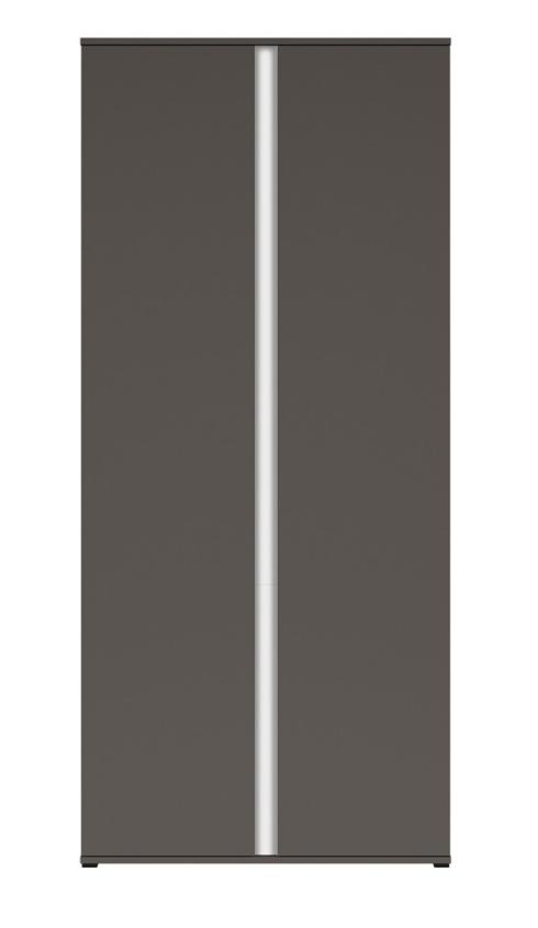 Šatníková skriňa Graphic SZF2D/C   Farba: sivý wolfram