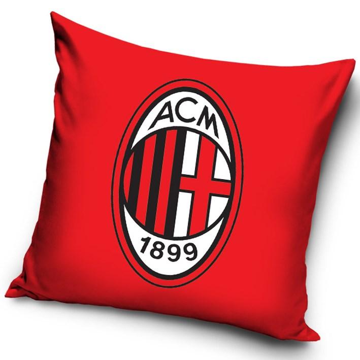 Tip Trade Vankúšik  AC Miláno Red, 40 x 40 cm,