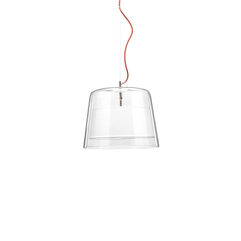 Biele závesné svietidlo Design Twist Kalmar