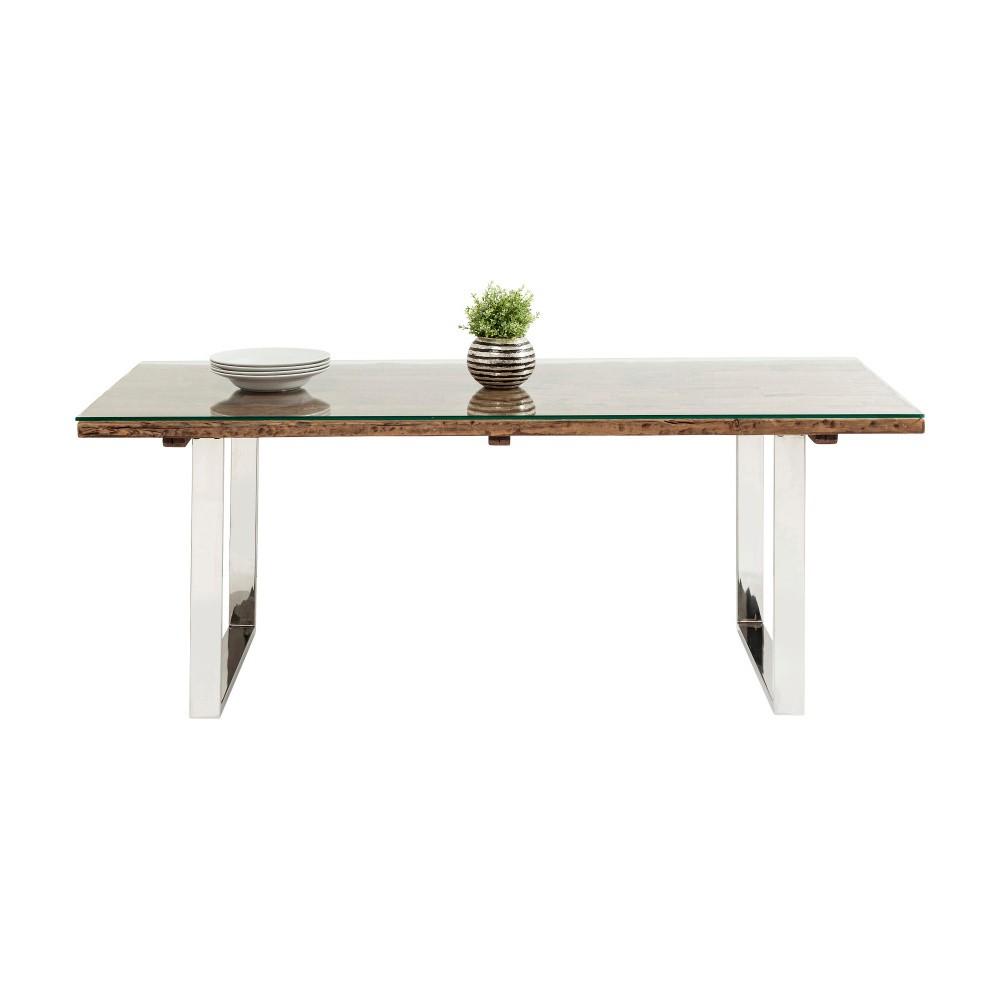 Jedálenský stôl z recyklovaného dreva Kare Design Pure, 1200 × 90 cm