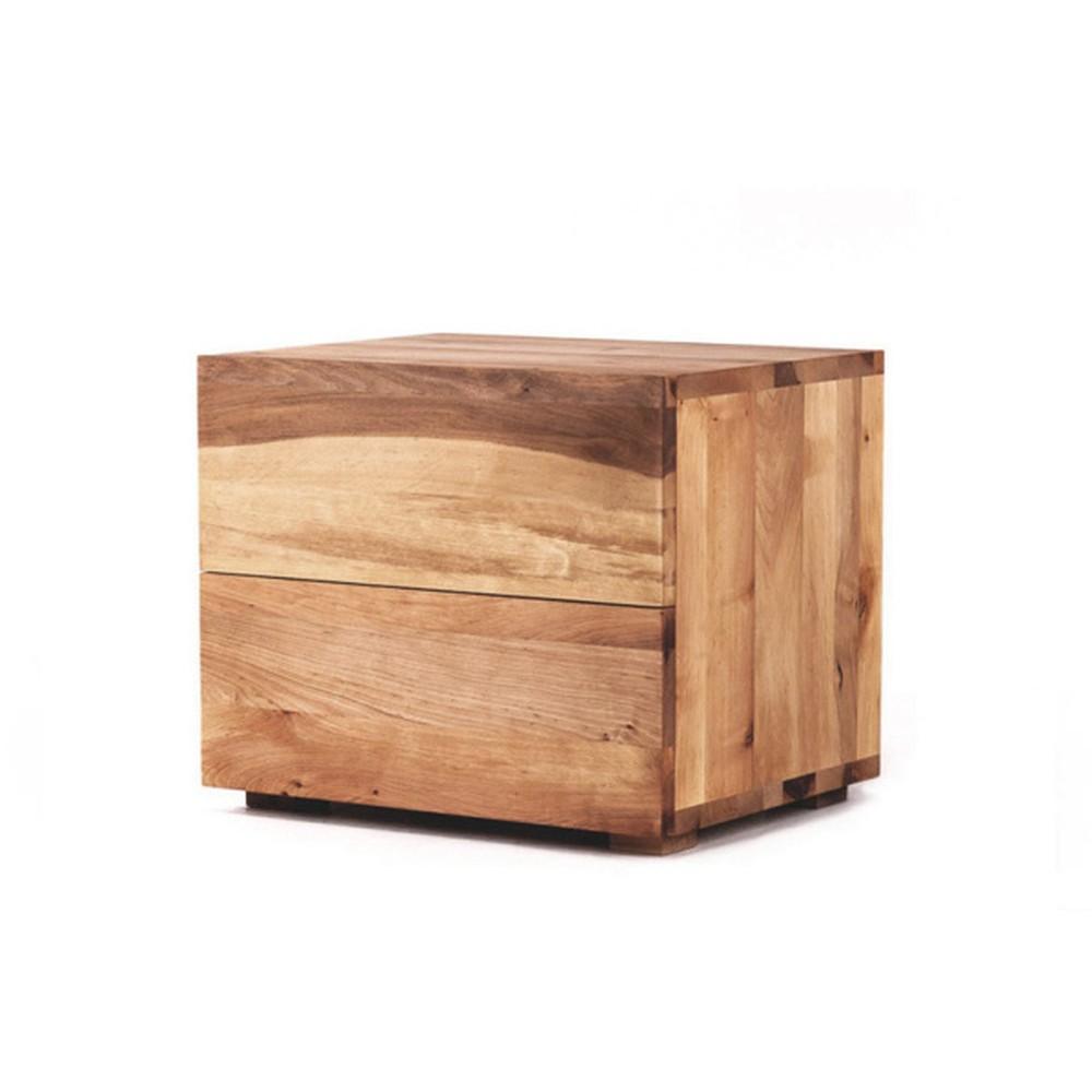 Nočný stôl z olejovaného dubového dreva Mazzivo Borgo