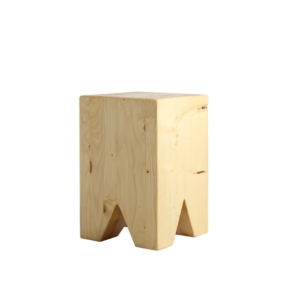 Odkladací stolík zo smrekového dreva Custom Form Snag