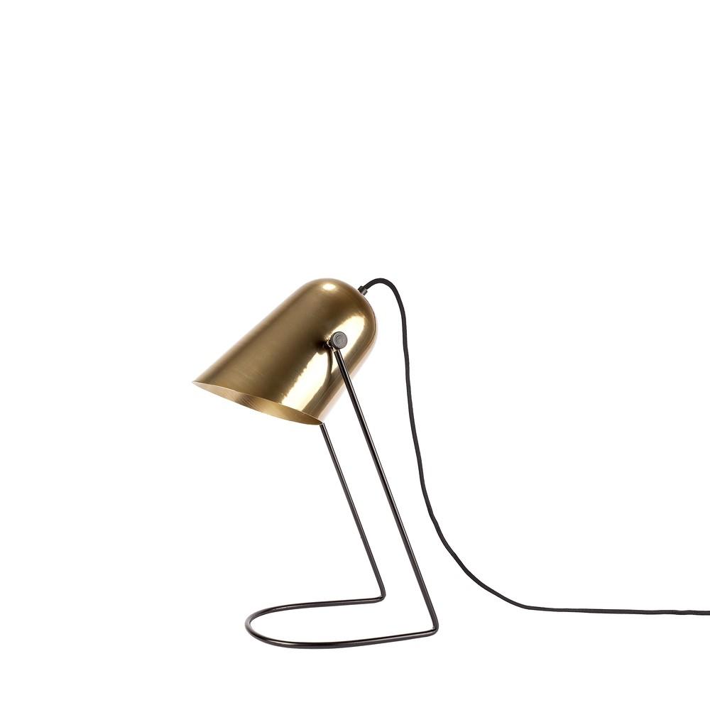 Zlatá stolová lampa  HF Living Ablaze