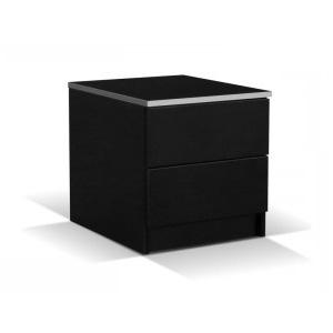 VISA nočný stolík, čierny