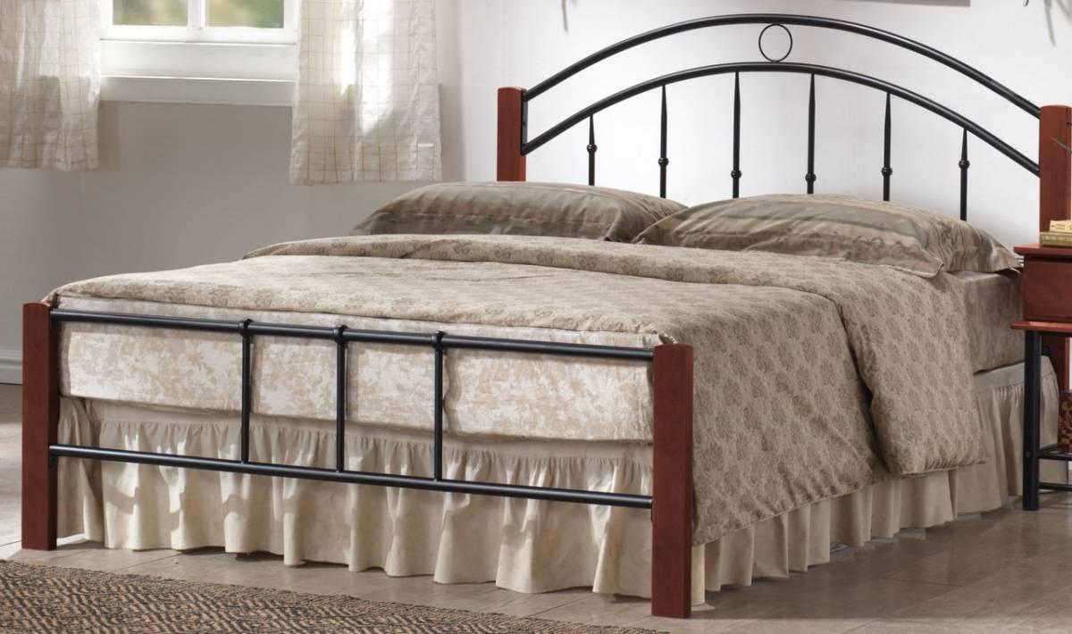 Manželská posteľ 160 cm Porto (s roštom) MOB-4023