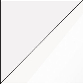 Konferenčný stolík VERIN 02   Farba: Biela / biely lesk