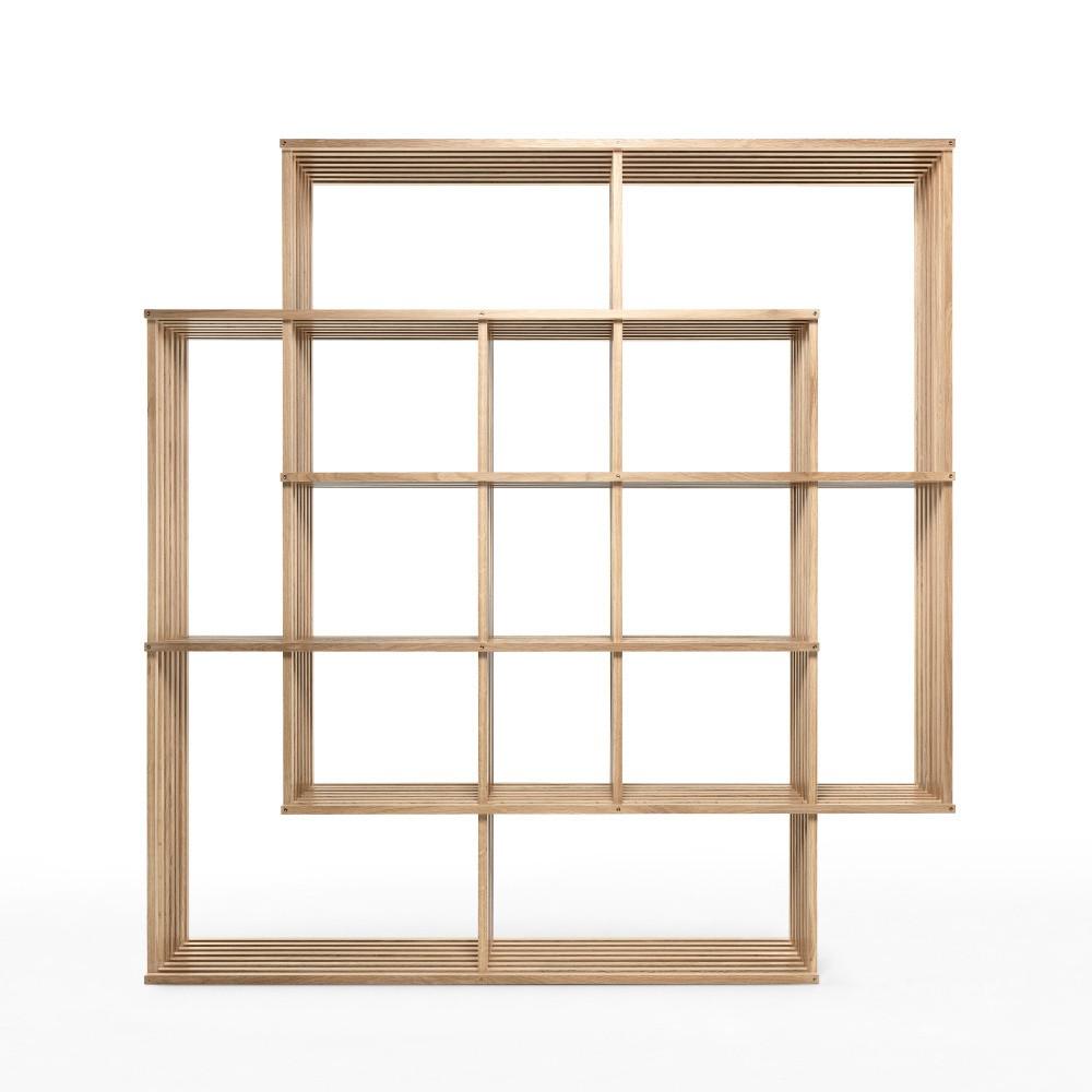 Variabilná knižnica z dubového dreva Wewood - Portugues Joinery X2