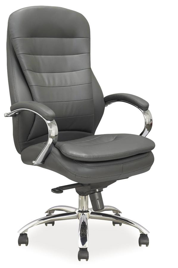 Kancelárske kreslo Q-154 / ekokoža   Farba: Sivá