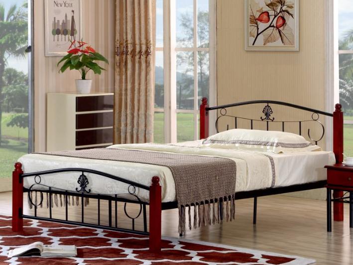Manželská posteľ 140 cm Magenta (s roštom)