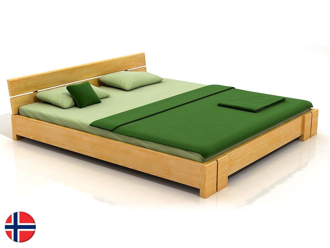 Manželská posteľ 160 cm Naturlig Tosen (borovica) (s roštom)