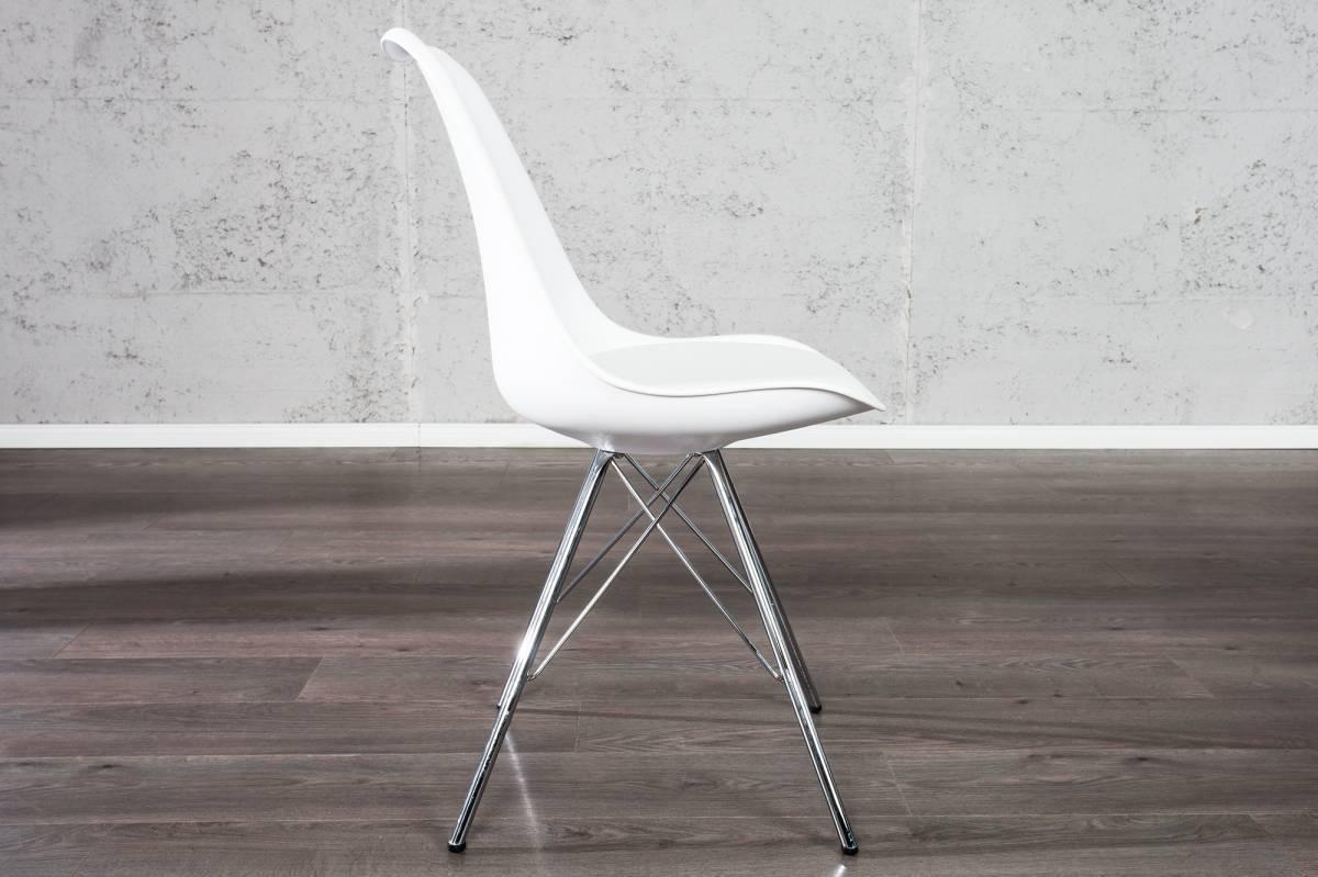 Jedálenská stolička SCANIA II - biela