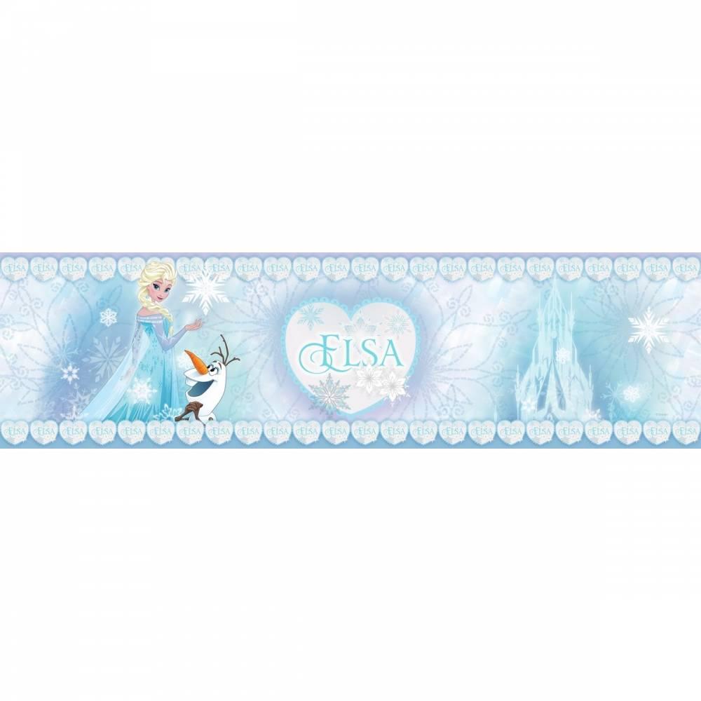 AG Art Samolepiaca bordúra Ľadové kráľovstvo, 500 x 14 cm