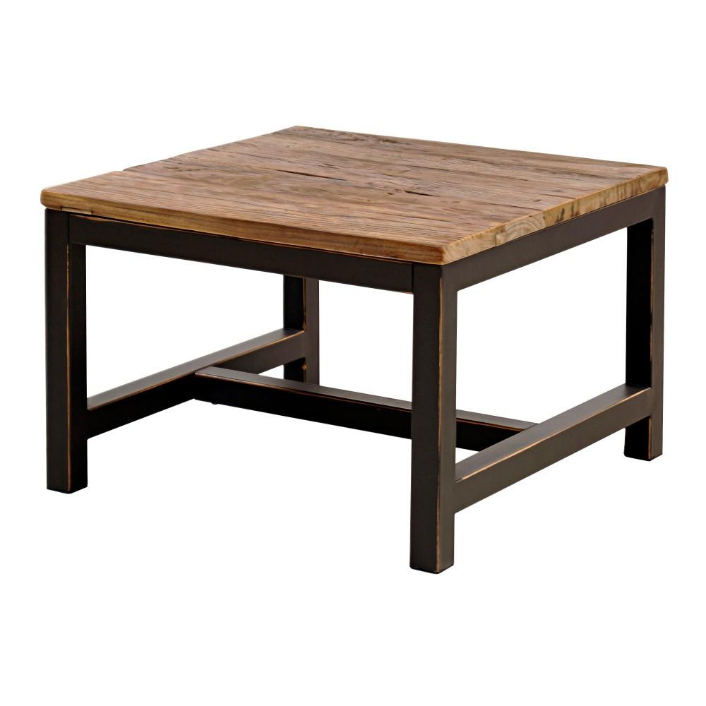 Odkladací stolík s doskou z brestového dreva Interstil Vintage