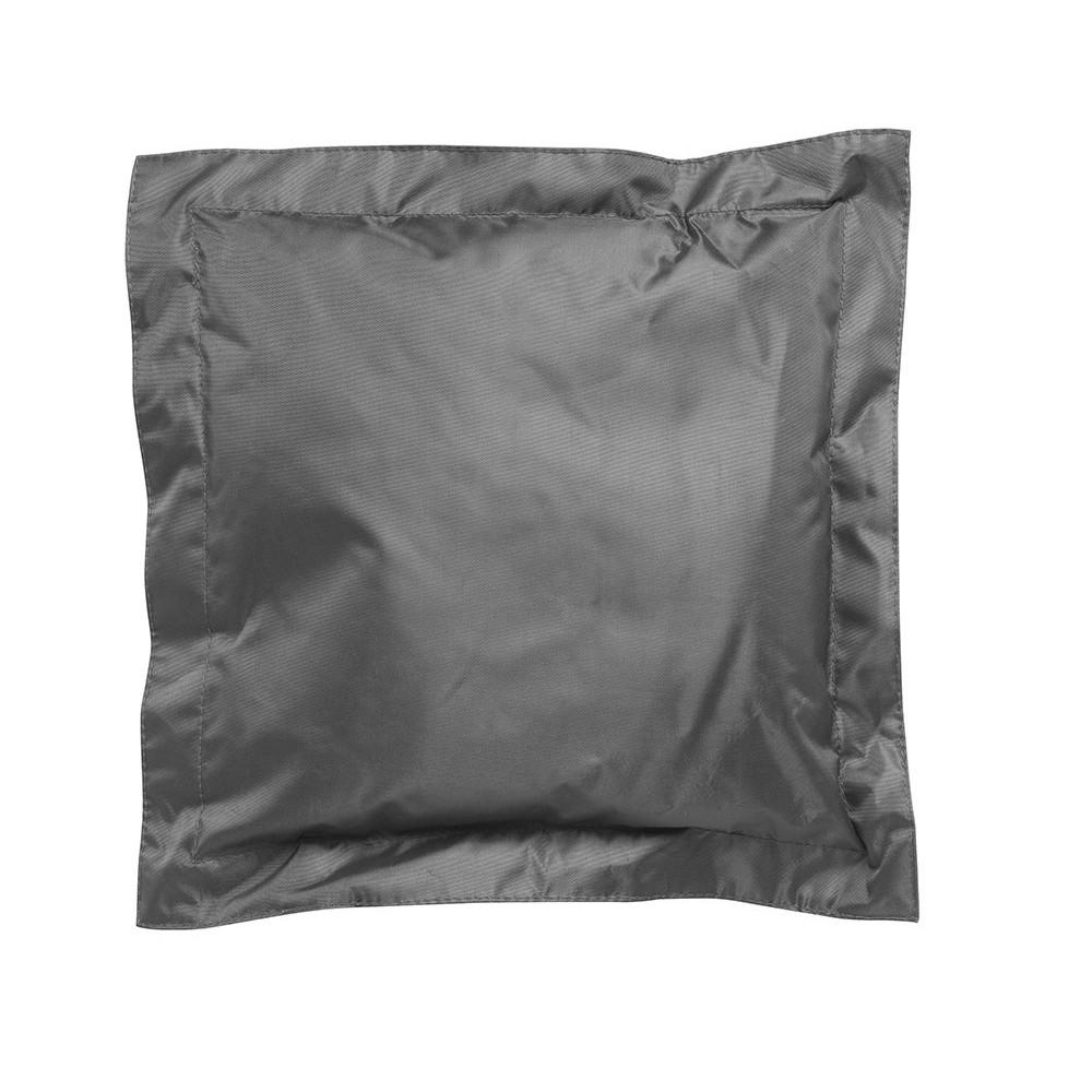 Tmavosivý vonkajší vankúšik Sunvibes, 45×45 cm