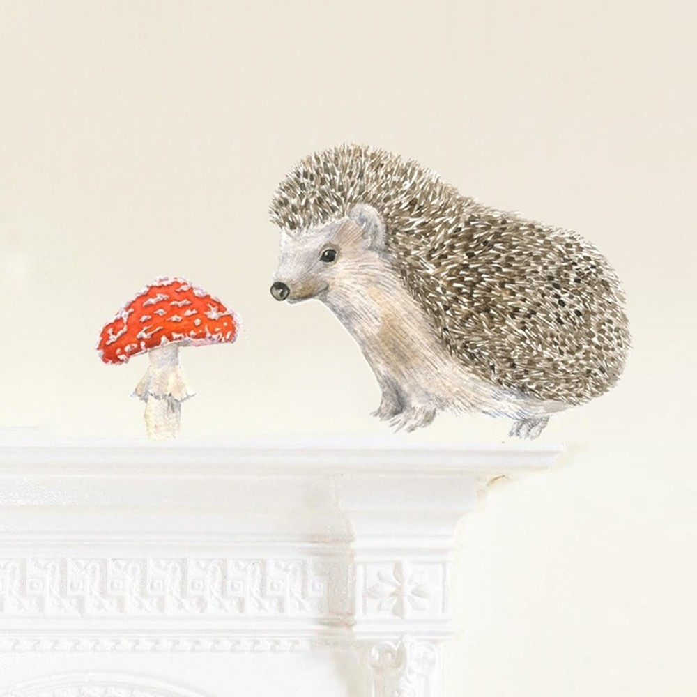 Znovu snímateľná samolepka Chocovenyl Hedgehog Mini