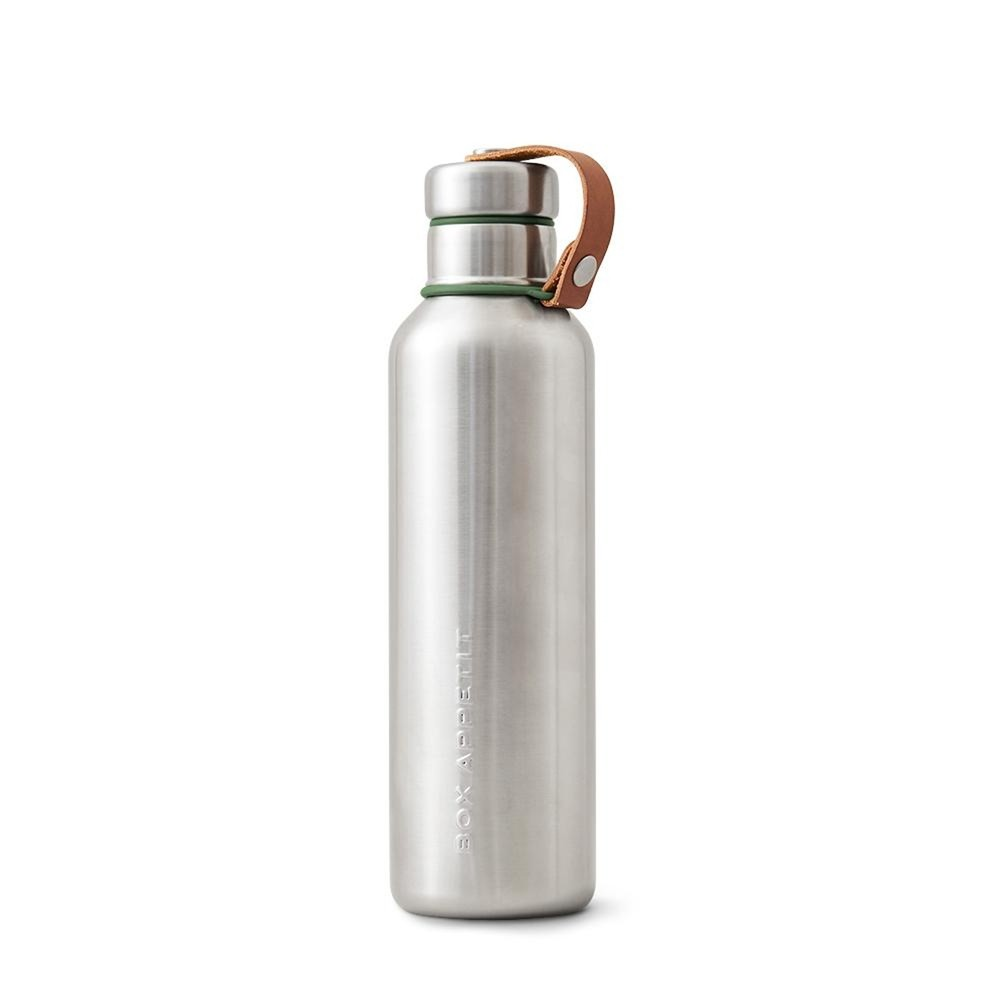 Olivovozelená dvojstenná antikoro termofľaša Black+Blum Insulated Vacuum Bottle, 750ml