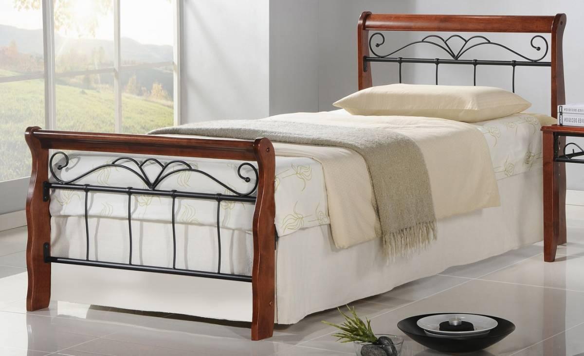 Jednolôžková posteľ 90 cm Veronica 90 (s roštom)