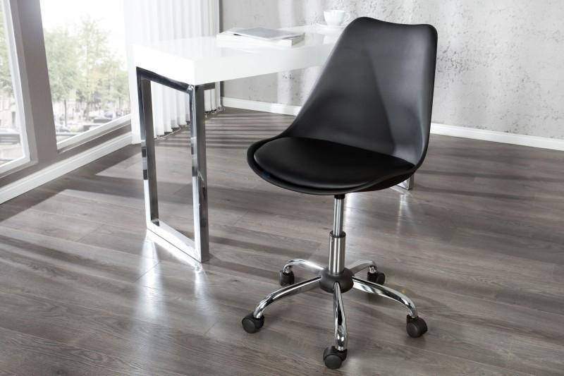 Kancelárska stolička SKANIA - čierna