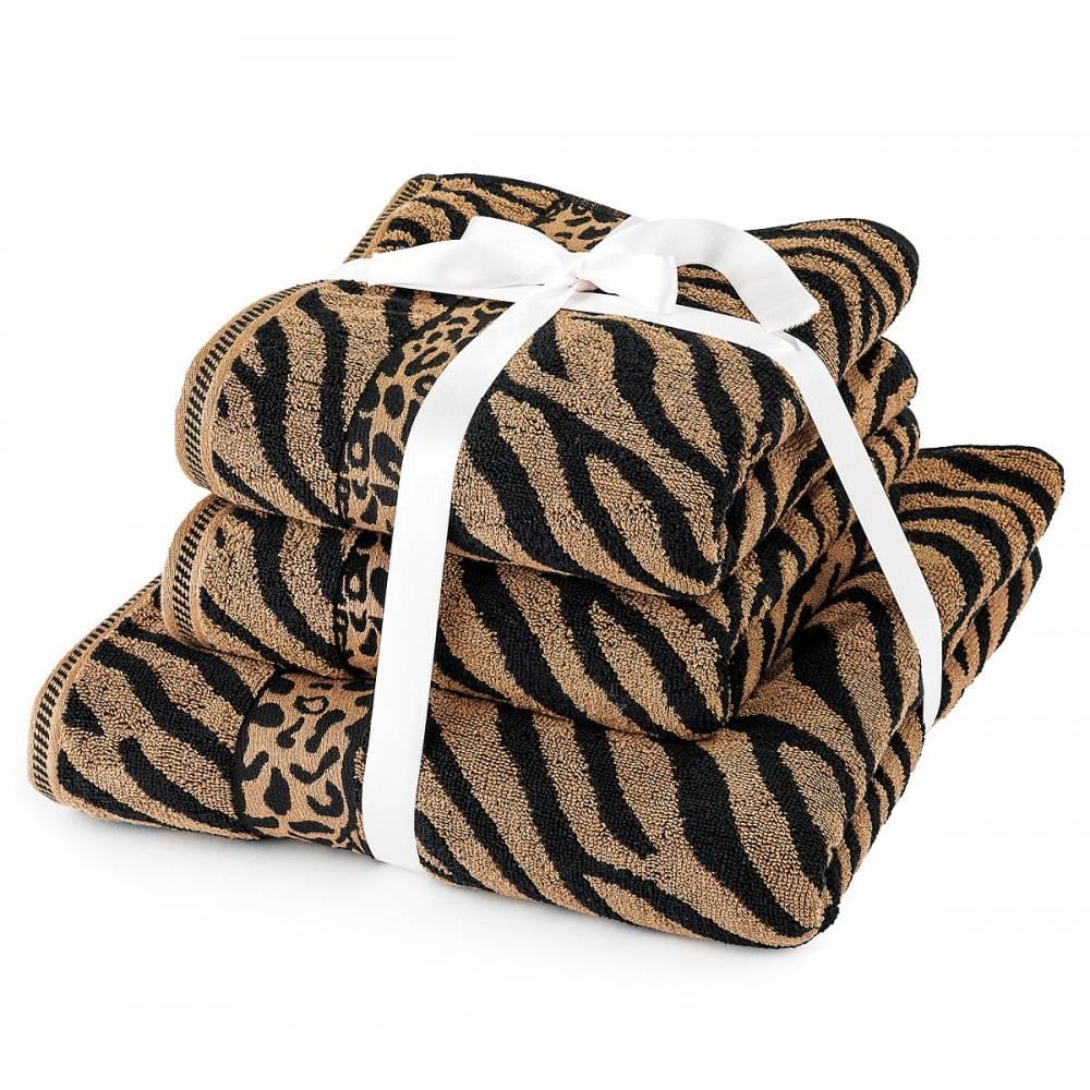 Jahu Sada uterákov a osušky Zebra hnedá