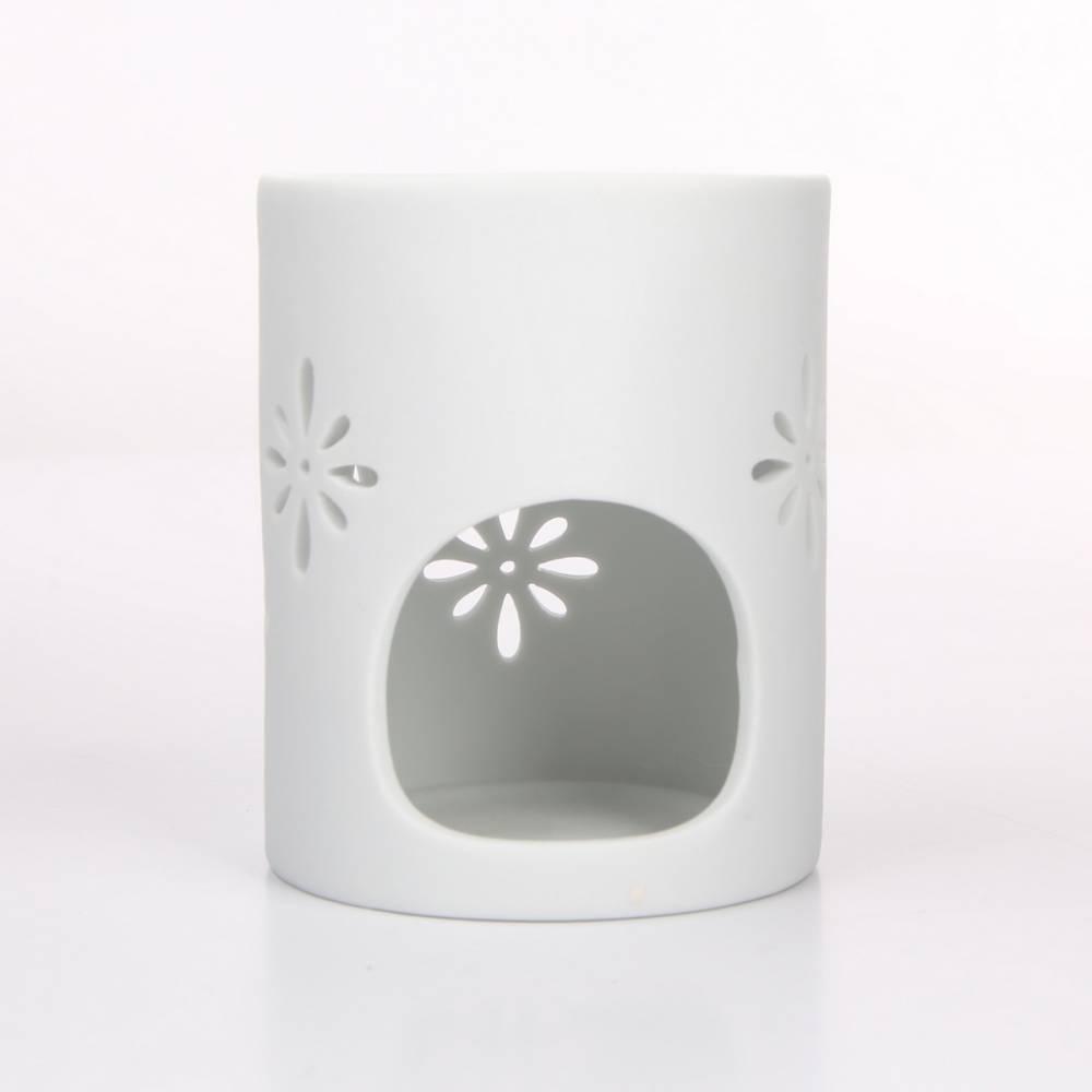 Altom Porcelánová aromalampa Abi 8 x 10 cm, biela