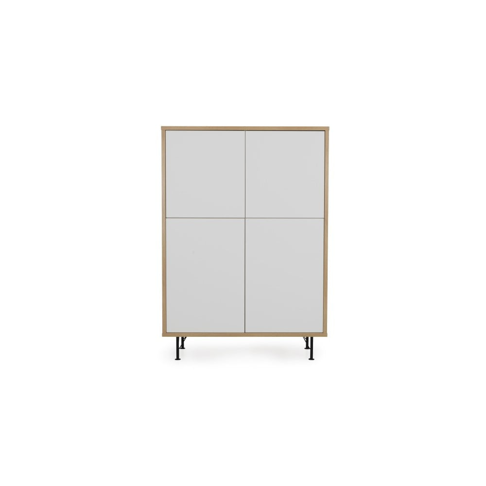 Biela skriňa Tenzo Flow, 111 x 153 cm