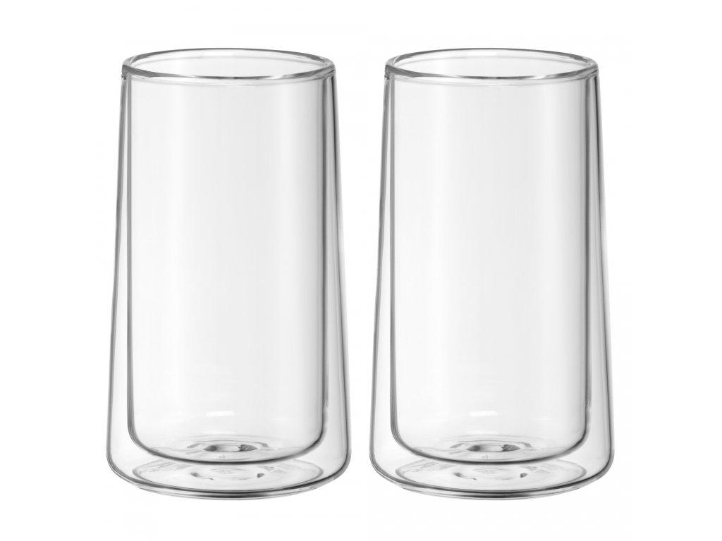 Set sklenených šálok na ľadový čaj Ice Tea Time WMF 270 ml 2 ks