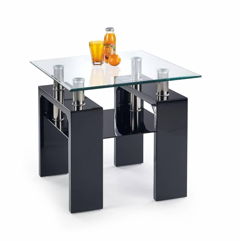 Konferenčný stolík DIANA H KWADRAT (čierna)
