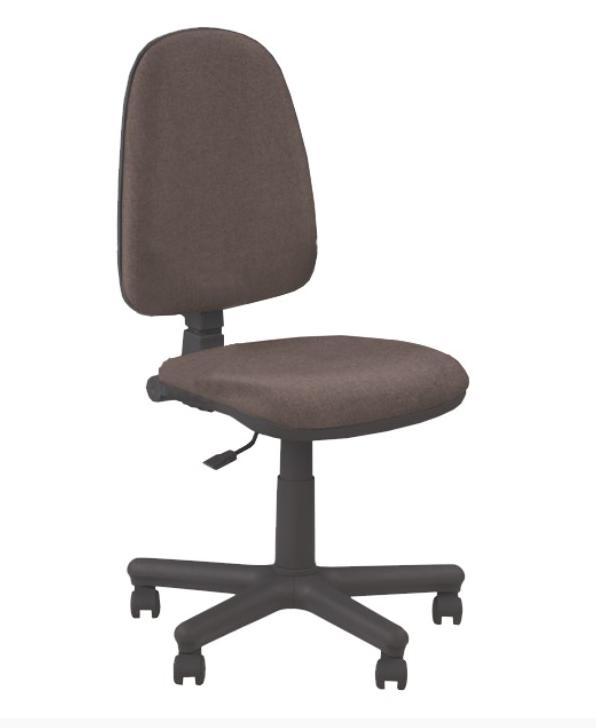 Kancelárska stolička bez podrúčok JUPITER GTS   Farba: Hnedá