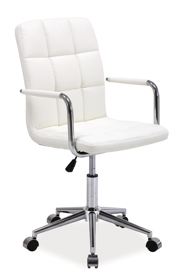 Kancelárske kreslo Q-022   Farba: Biela