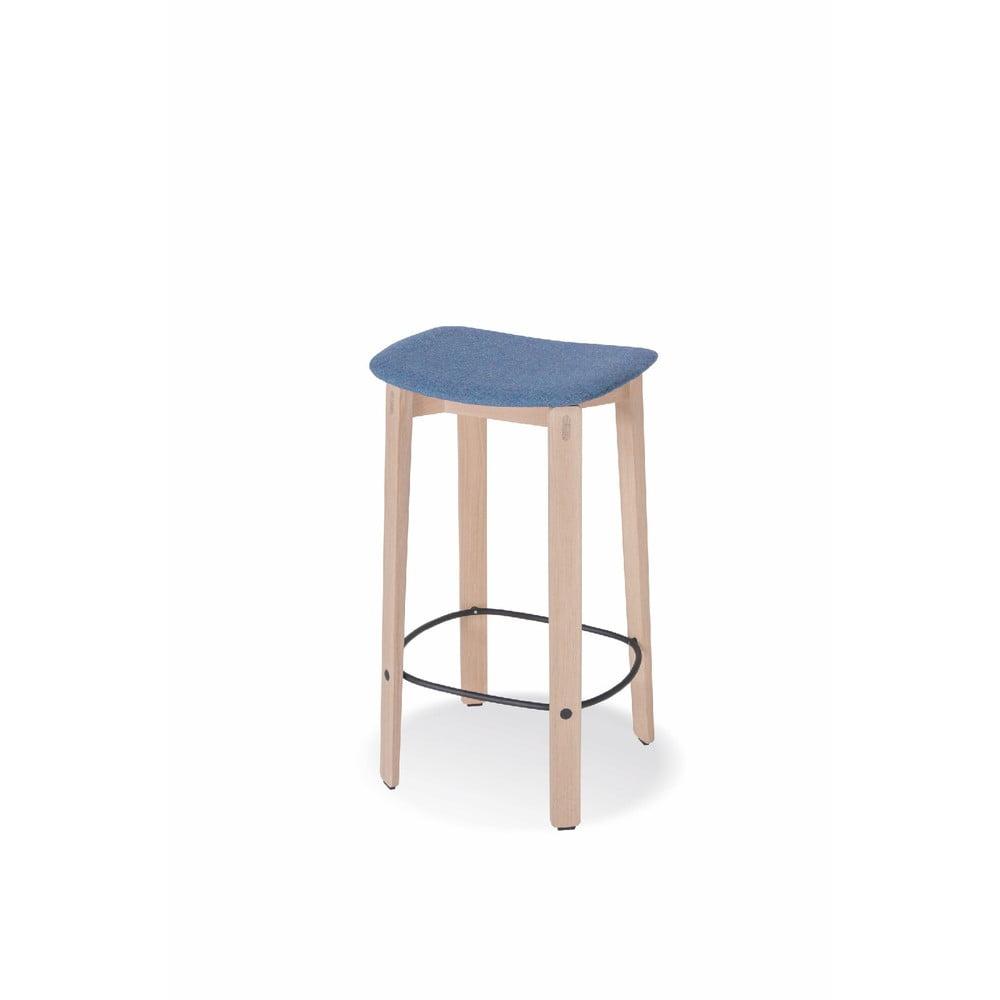 Barová stolička z dubového dreva Gazzda Nora