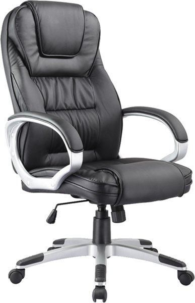 Kancelárska stolička Q-031 čierná