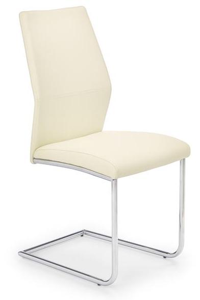 Jedálenská stolička K179 tmavokrémová