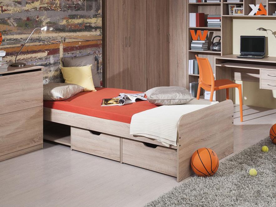 Jednolôžková posteľ 90 cm Decodom Rio
