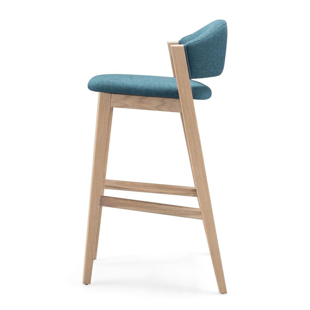 Barová stolička s konštrukciou z dubového dreva Wewood - Portugues Joinery Caravela