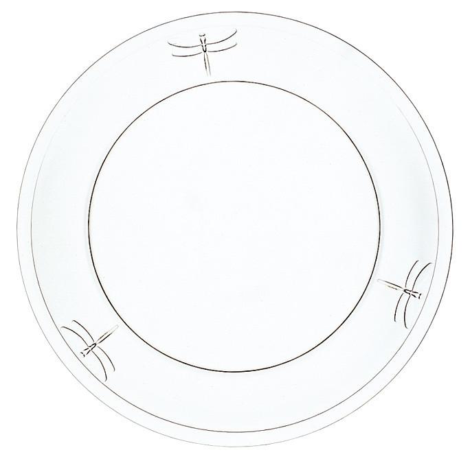 Dezertný tanier La Rochère Libellules, ⌀ 19 cm