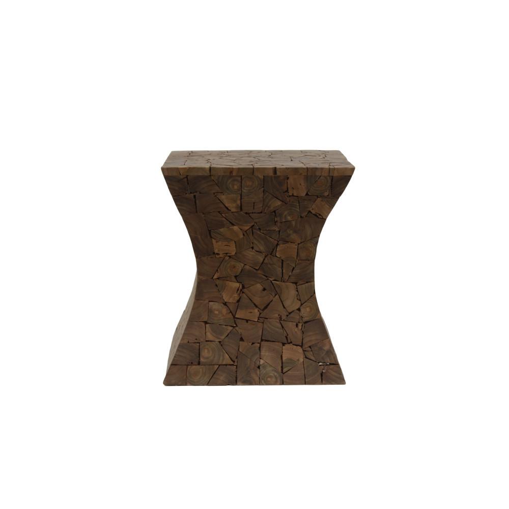Stolička z teakového dreva HSM Collection Mozaiek