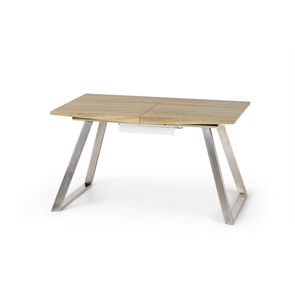 Rozkladací jedálenský stôl v dekore dubového dreva Halmar Trevor, dĺžka 130 - 170 cm