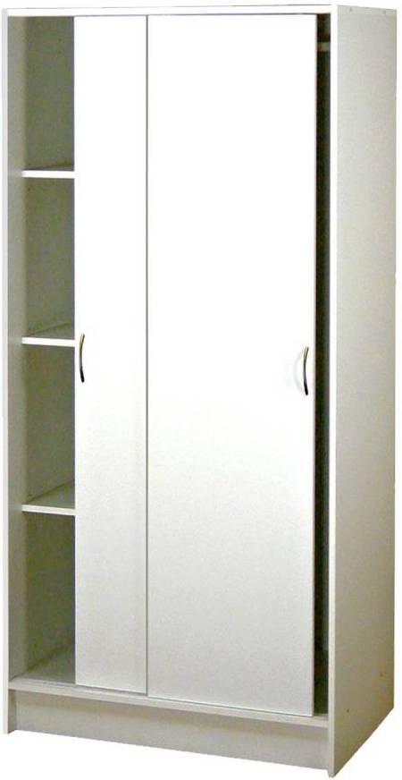 Skriňa s posuvnými dverami 5223 biela