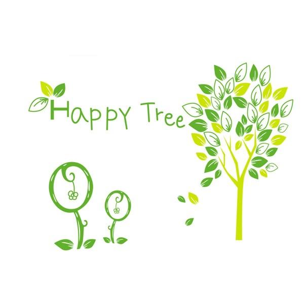 Samolepiaca dekorácia happy tree 2