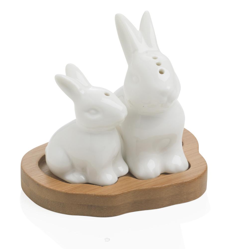 Soľnička a korenička Brandani Rabbit