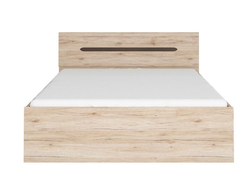 Manželská posteľ Elpasso LOZ/160   Farba: dub san remo svetlý