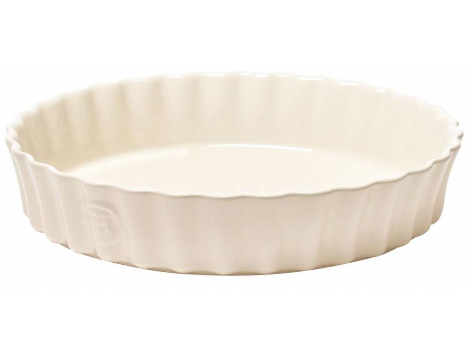 Forma na koláč Ø 24 cm krémová Clay, Emile Henry