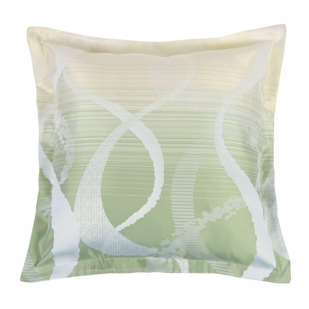Bellatex Vankúšik Zita obloúky zelená 50 x 50 cm